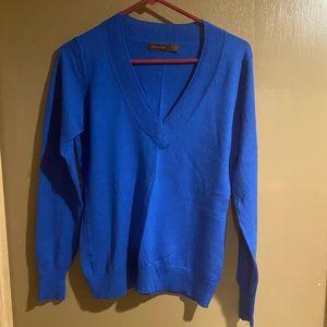 Royal blue sweater